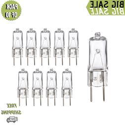Pack Of 10 Q50/G8 50 Watt G8 Base JCD Type 120 Volt Halogen