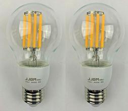 Light Bulb LED Edison Bulb, 6W 3000K 120V - New