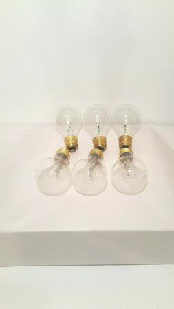 Pack of 2 Satco clear Light Bulbs  60 Watt- Size / Buy 2 lot