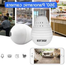 panoramic hidden wifi light bulb