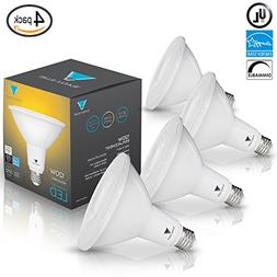TriGlow 13-Watt  PAR38 LED Flood Light Bulb, Dimmable, UL Li