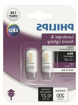Philips T4 G8 Bi-Pin LED Special Purpose Light Bulb  - 2 Bul