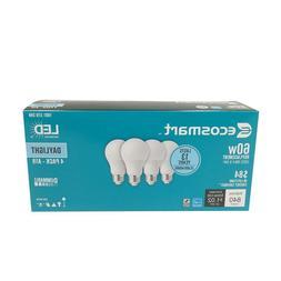 60 watt ecosmart A19 dimmable energy save star LED light bul