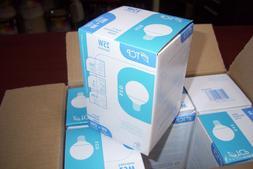 Qty. 6    TCP 1G250435K 4-watt G25 Globe CFL Light Bulbs, 35