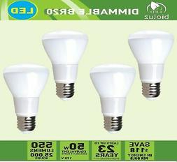 R20 LED Bulbs by Bioluz LED BR20 LED Bulbs  2700K Bright War