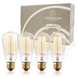Antique Vintage Edison Bulb ST64 - Hudson Lighting 60 watt V