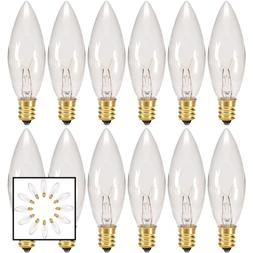 Replacement Light Bulbs For Electric Candle Lamps & Chandeli