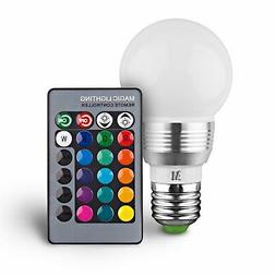 KOBRA Retro LED Color Changing Light Bulb with Remote Contro