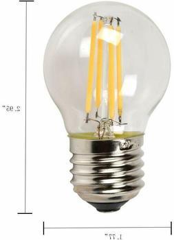 Retro G45 LED Edison Filament Bulb  4W  Energy Saving Bright