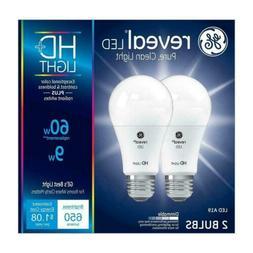 GE Lighting Reveal LED 9-watt , 650-Lumen A19 Light...