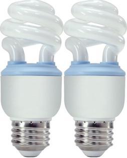 GE Reveal Spiral CFL 10 Watt  light Bulbs , 40W