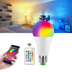 RGB RGBW LED Bulb Light Color Change E27 Lamp Bulbs Dimmable
