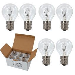 S11 Intermediate E17 Base 25 Watt Bulbs for Lava Lamps,Repla