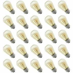 11 Watt Outdoor Light bulbs, Rolay S14 Warm Replacement Bulb