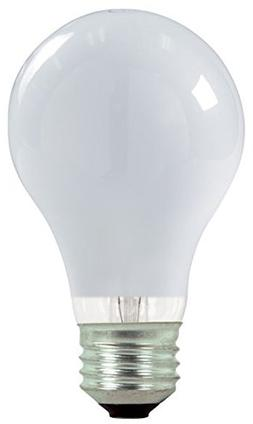 Satco S2408 Halogen Excel Light Bulb, 72 Watts, 120 Volt