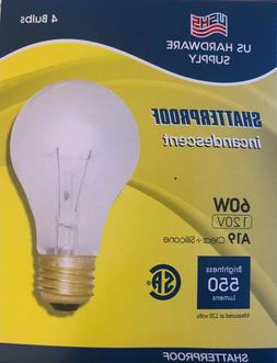 SATCO S3952 60W Light Bulbs bundle of 240 bulbs