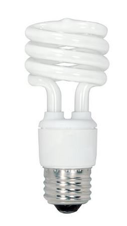 Satco S6237 13 Watt T2 Ultra Mini Spiral 5000K Natural Light
