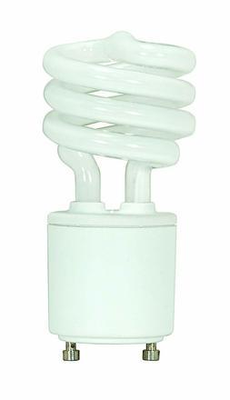 Satco S8203 13 Watt  800 Lumens Mini Spiral CFL Soft White 2