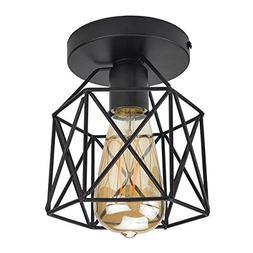 Lysed Semi-Flush Mount Ceiling Light E26/27 Edison Bulb Indu