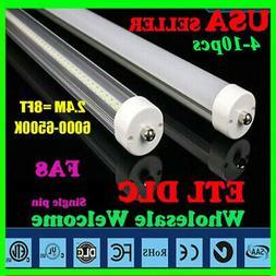 Single Pin 8FT 40W LED 8 Foot Fluorescent Bulbs Daylight Whi
