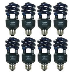 Sunlite SL20/BLB/8PK 20W Spiral Energy Saving CFL Light Bulb