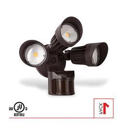 LEDPAX Technology SL3-BR Security Light Bulbs, Bronze
