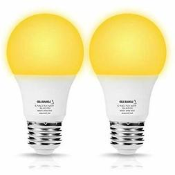 Sleep Aid Light Bulbs, A19 LED Yellow No Blue Night Bulb, 6W
