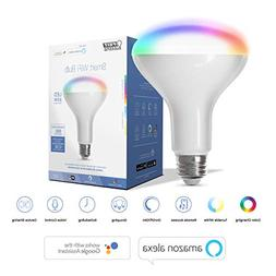 FEIT Electric Smart WiFi Enhance LED BR30 Flood/Spot Bulb, W