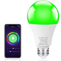 Smart WiFi LED Light Bulb, BESTINNKIT Color Changing Light B