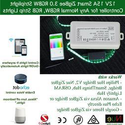 smart zigbee rgb rgbw led strip light