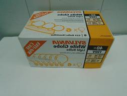 Sylvania Soft Clear Round Globe Light Bulbs Bath - Vanity Bu
