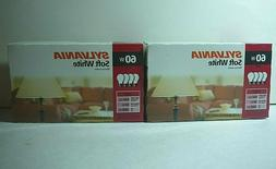 Sylvania Soft White 60 Watt 120v A19 770 Lumens Double Life