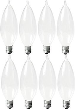 GE Lighting Soft White 66108 60-Watt 640-Lumen Bent Tip Ligh