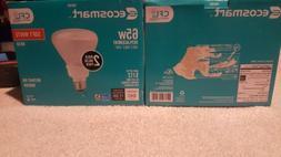 EcoSmart Soft White BR30 CFL Light Bulb, 65W Equivalent 2 Pa