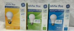GE Soft White INCANDESCENT Light Bulbs 4 Pack 60w, 75W or 10