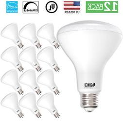 SUNCO 12PACK BR30 FLOOD LED LIGHT BULB 11W 65W 850 LUMEN 500