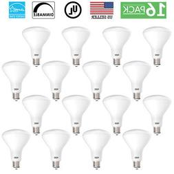 Sunco 16 PACK BR30 LED 11W 5000K Daylight Dimmable Indoor/Ou