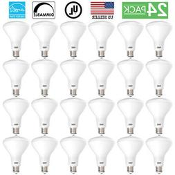 SUNCO 24PACK BR30 FLOOD LED LIGHT BULB 11W 65W 850 LUMEN 500
