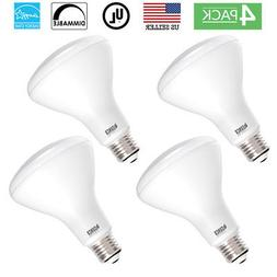 SUNCO 4 PACK BR30 FLOOD LED LIGHT BULB 11W 65W 850 LUMEN 500