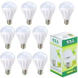SUNYDEAL 10PK LED Light Bulbs E26 110V 100W Equivalent 2200L