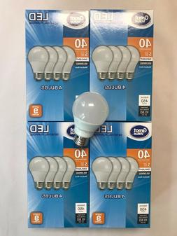 Sweet 16 Pack LED 40W = 6W Daylight 40 Watt Equivalent A19 5