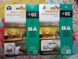 Osram Sylvania 20w 12v T3Q 3000k Clear G4 Tungsten Halogen Q