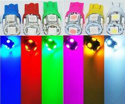 T10 5SMD Xenon LED Light Bulbs 152 168 192 194 912 921 2825