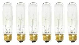60-Watt T10 Clear Tubular Incandescent Medium  Base 120-Vol