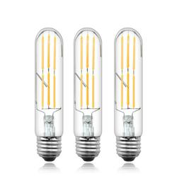 T10 Dimmable Tubular LED Filament Bulb 6 Watts 120V Edison L