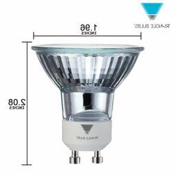 Triangle Bulbs T10293 50 Watt GU10 Base 120 Volt MR16 With U