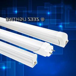 T5/T8 White LED Linear Tube Light Bulb 2FT/3FT/4FT Replaceme