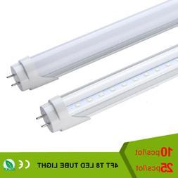 T8 LED Tube 18W 4ft 4000K 6500K Lamp 40W Fluorescent Replace