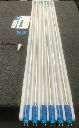 Hyperikon T8 T10 T12 LED 4FT Tube Light, 18W , Single-End Po