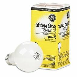 GE Three-way soft white incandescent bulb 50/100/150 watts